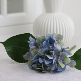 Konstgjord Hortensia 25 cm , hemmetshjarta.se
