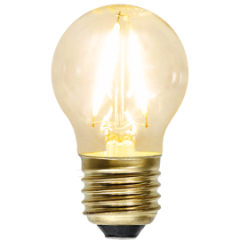 LED-lampa E27 Soft Glow G45 , hemmetshjarta.se