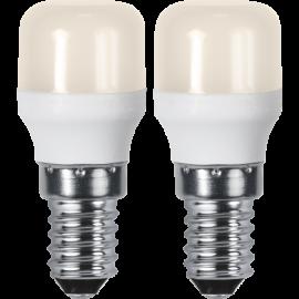 LED-Lampa E14 Ø26 lm130/14w Basic Frostad 2-pack , hemmetshjarta.se
