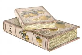 Boklåda Lemon 30x21x7cm 2-pack , hemmetshjarta.se