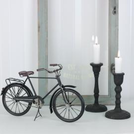 Dekoration Cykel Herr Svart 29 cm ** , hemmetshjarta.se