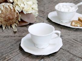 Provence - Kaffekopp med fat , hemmetshjarta.se