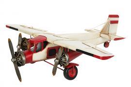 Dekoration Flygplan Stor Metall 57x60x16cm , hemmetshjarta.se