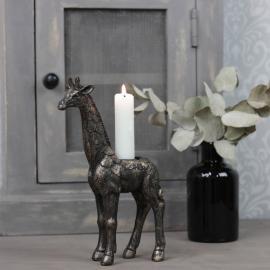Kronljusstake Giraff G.Brun Poly 14x6x21cm , hemmetshjarta.se