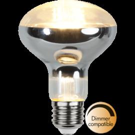 LED-Lampa E27 Reflector Ø80 Dim lm650/51w Clear , hemmetshjarta.se