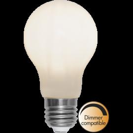 LED-Lampa E27 Ø60 Dim lm450/39w Frostad Ra90 , hemmetshjarta.se
