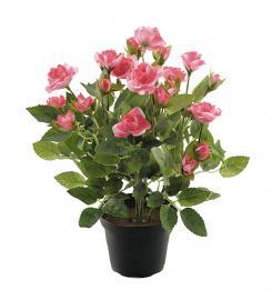 Konstgjord Ros 30 cm Rosa , hemmetshjarta.se