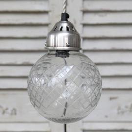 Fönsterlampa Kula med glasskärm * , hemmetshjarta.se