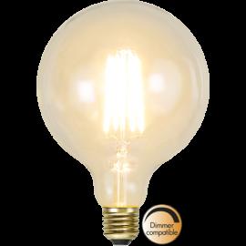 LED-lampa E27 Soft Glow G125 Dim , hemmetshjarta.se