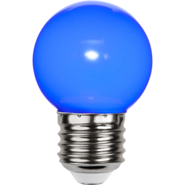 LED-lampa E27 Outdoor Lighting G45 Blå , hemmetshjarta.se