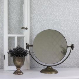.Bordsspegel Vippbar - antikguld , hemmetshjarta.se