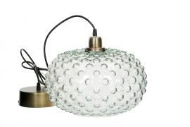 Lampa Globe Stor Glas 30x23cm , hemmetshjarta.se