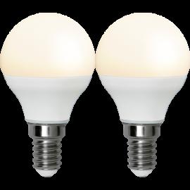 LED-Lampa E14 Ø45 lm250/25w Frostad Basic 2-pack , hemmetshjarta.se