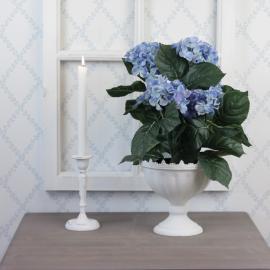 Konstgjord Hortensia 37 cm Blå , hemmetshjarta.se