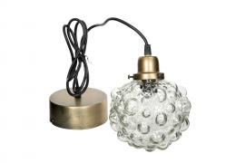 Lampa Globe Glas 15cm , hemmetshjarta.se