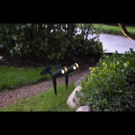 Solcells-spotlight Powerspot 2-pack , hemmetshjarta.se