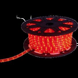 Ljusslang Ropelight Flex LED Reel Utomhus Röd 1620 ljus 4500cm , hemmetshjarta.se