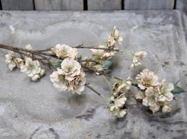 Konstgjord Gren med blommor L92 cm dammig rosa , hemmetshjarta.se