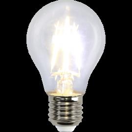 LED-Lampa E27 Ø60 lm470/40w Clear , hemmetshjarta.se