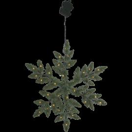 Konstgjord Krans Snowflake Batteridriven Utomhus 36 ljus 50cm , hemmetshjarta.se